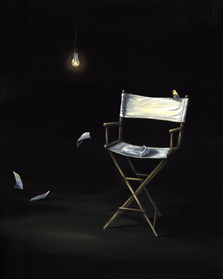 Kristin Llamas Art Nomadic Project New Jersey inspired Edison Painting