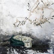 fine art giclee print Kristin Llamas Art Hurricane Sandy New York inspired Socrates Painting