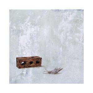 Nashville artist fine art print oil painting of feather
