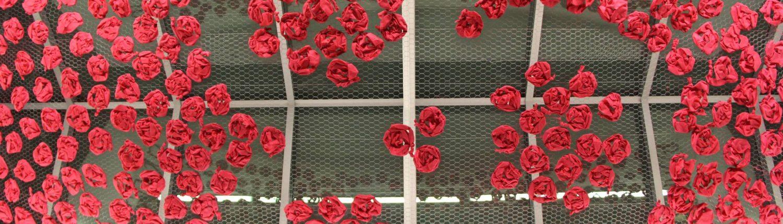 nashville airport ak llamas art installation