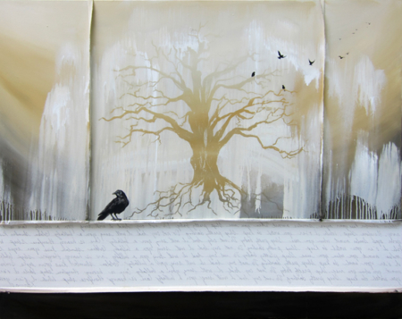 k-llamas-tree-crow-painting