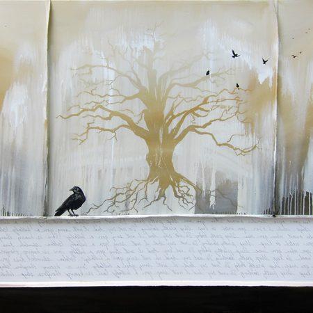 k-llamas-tree-crow-painting