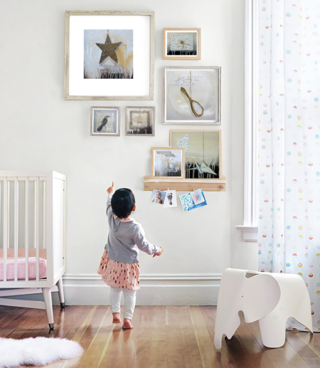 nursery design k llamas art painting