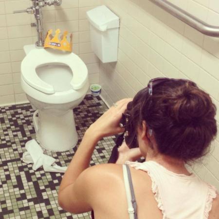 nashville artist kristin llamas social justice art toilet