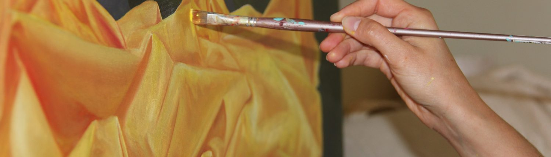 nasville artist kristin llamas painting