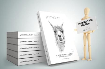 llama art book by nashville artist kristin llamas