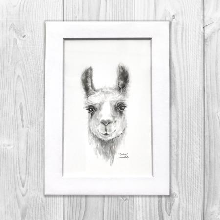 mini llama print